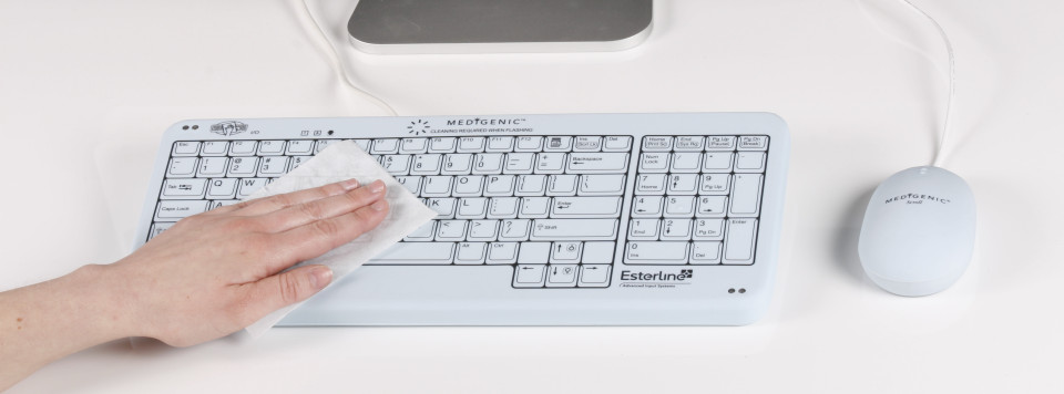 Medigenic Medical Cart-size keyboard